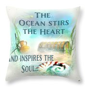 Sea Side-jp2736 Throw Pillow