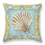 Sea Spa Bath 1 Throw Pillow