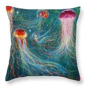 Sea Space Throw Pillow