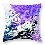 Sea Spirits Throw Pillow