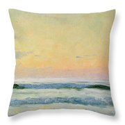 Sea Study Throw Pillow by AS Stokes