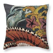 Sea Surge Throw Pillow