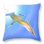 Sea Tern If I Were A Bird Throw Pillow