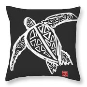 Sea Turtle Love Throw Pillow