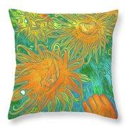 Sea Urchin 10 Throw Pillow