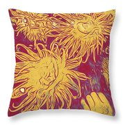 Sea Urchin 6 Throw Pillow