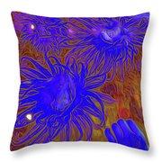 Sea Urchin 9 Throw Pillow