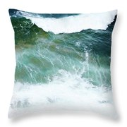 Sea Veins Throw Pillow
