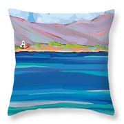Sea View Galaxidhi Throw Pillow