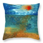 Sea Was Throw Pillow