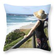Sea Watch Throw Pillow