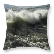 Sea Waves1 Throw Pillow