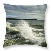 Sea Waves2 Throw Pillow