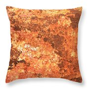 Sea Weathered- Abstract Art Throw Pillow