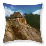 Seacliff House Throw Pillow