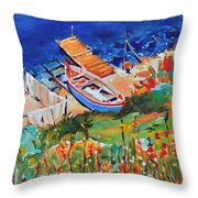 Seacoast Throw Pillow