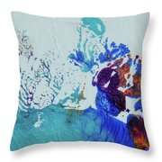 Seafloor Throw Pillow