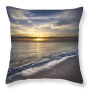 Seafoam Throw Pillow
