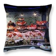 Seafood Restaurant 1 Throw Pillow
