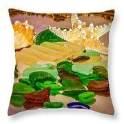 Seaglass - New Perspective Throw Pillow