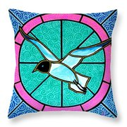 Seagull 4 Throw Pillow