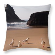 Seagull's Folly Throw Pillow