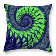 Seahawks Spiral Throw Pillow
