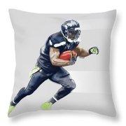 Seahawks Throw Pillow