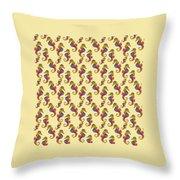 Seahorse Watercolor Art Throw Pillow