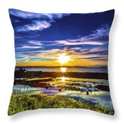 Seahurst Sunset Throw Pillow