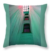 Sealed In Plastic Throw Pillow