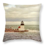 Seamans Light Throw Pillow