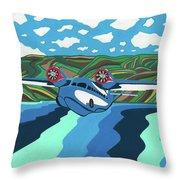 Seaplane 1 Throw Pillow