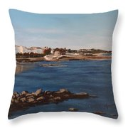 Seapoint From Salthill Throw Pillow