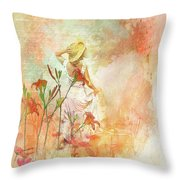 Search For Tomorrow Throw Pillow