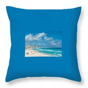 Search Vacations Online Throw Pillow