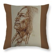 Searching For A Vision Throw Pillow