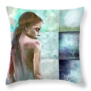 Searching For Inner Peace Throw Pillow