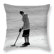 Searching For Patience Throw Pillow