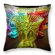 Searching For The Grail 1 Throw Pillow