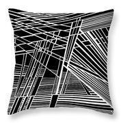 Searchlights Throw Pillow
