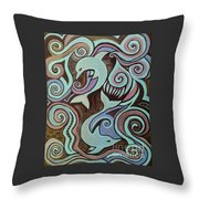 Searenity Throw Pillow