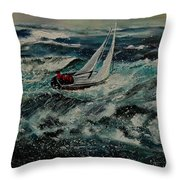 Seascape 97 Throw Pillow