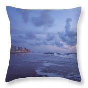 Seascape Lights Throw Pillow