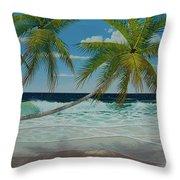 Seascape Series No.1 Throw Pillow