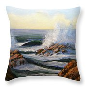 Seascape Study 1 Throw Pillow