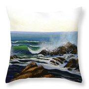 Seascape Study 5 Throw Pillow