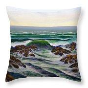 Seascape Study 6 Throw Pillow