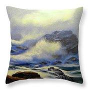 Seascape Study 8 Throw Pillow