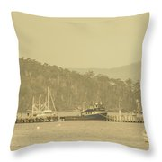 Seascapes Of Old Throw Pillow